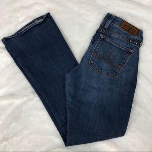 Lucky Brand Jeans 4 27 Sofia Boot Cut Short 30